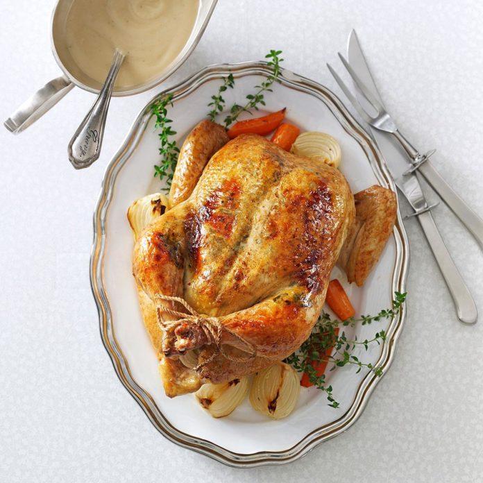 Rosemary-Orange Roasted Chicken