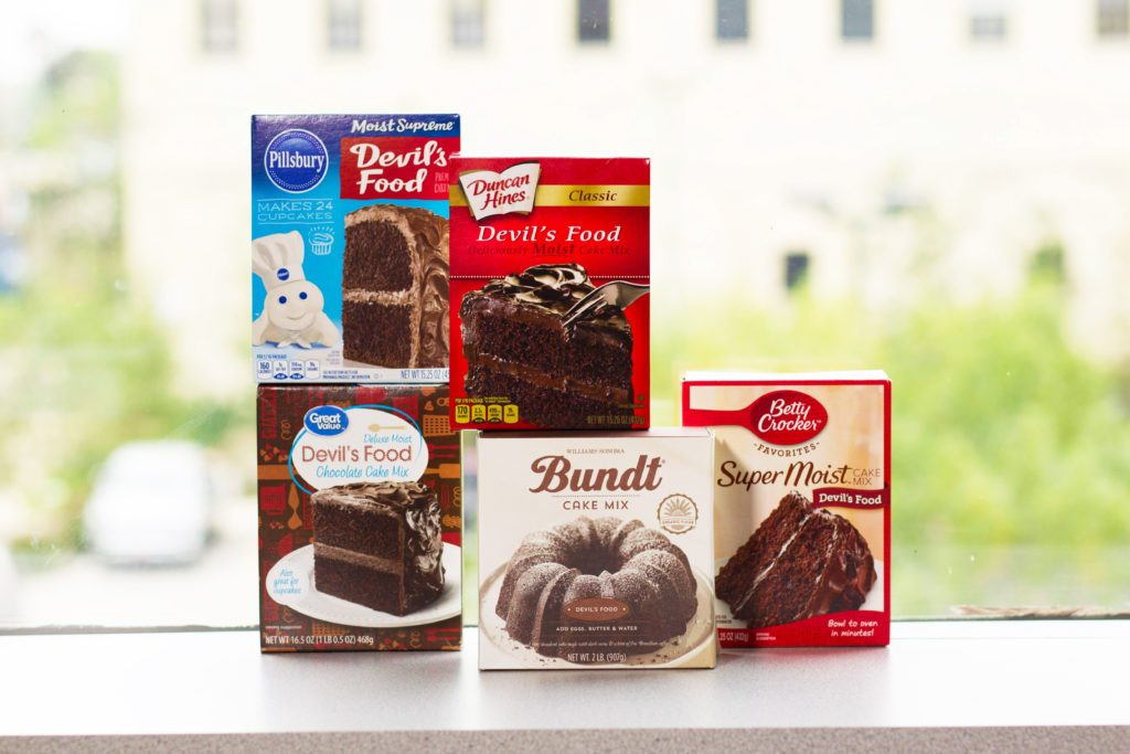 We Taste Tested The Most Popular Brands Of Chocolate Cake Mix
