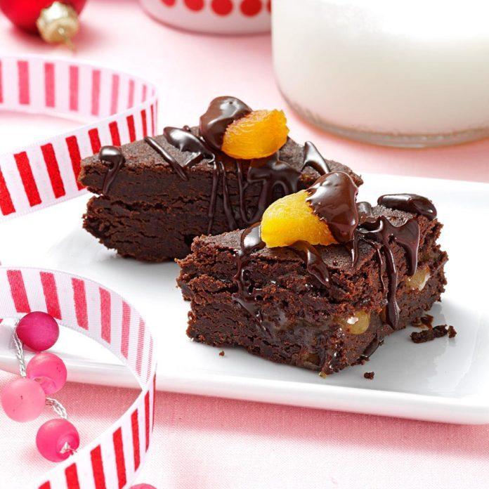 Sacher Torte Brownies