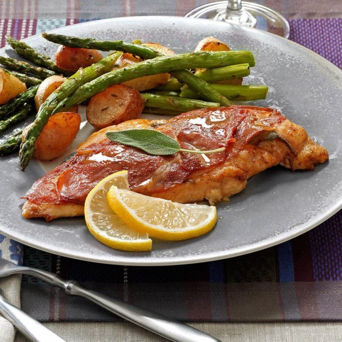 Sage - Prosciutto Chicken Saltimbocca