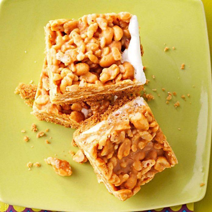 Salted Peanut Bars