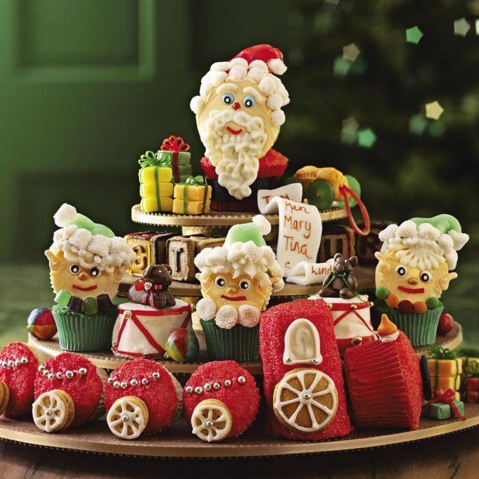 Santa's Workshop Cupcakes
