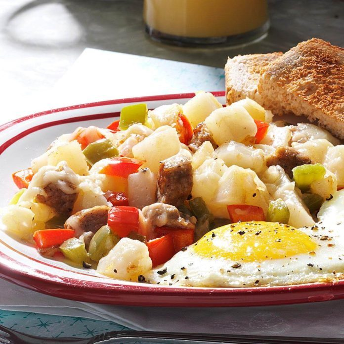 Sausage Breakfast Hash