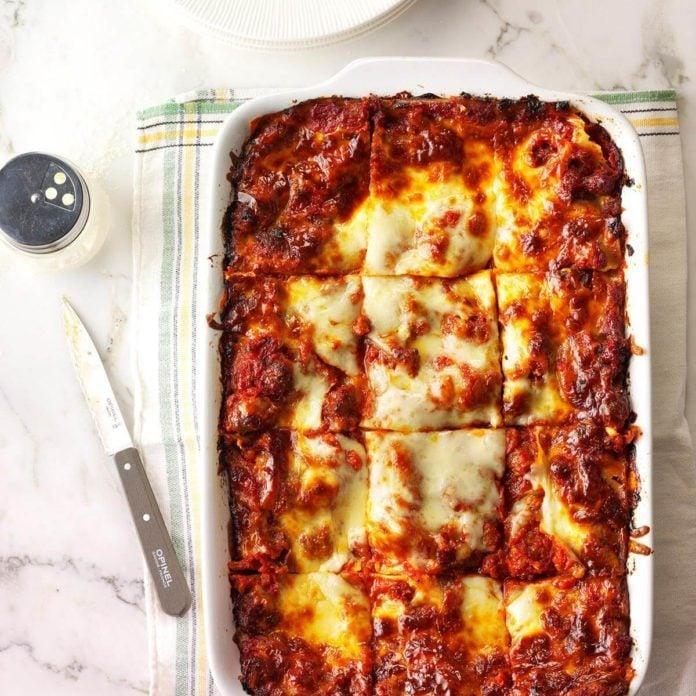Day 4: Sausage Lasagna
