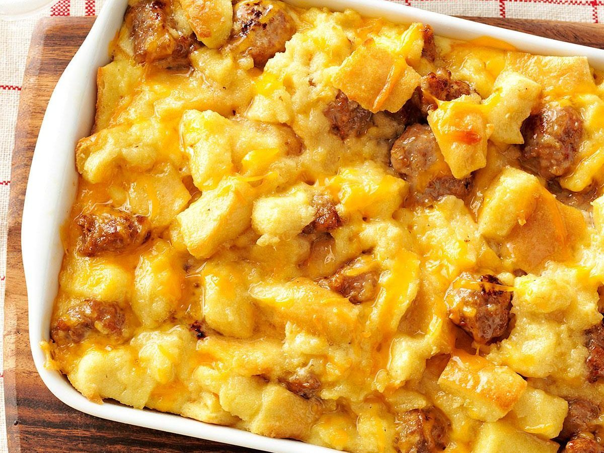 Sausage And Egg Casserole Recipe Taste Of Home