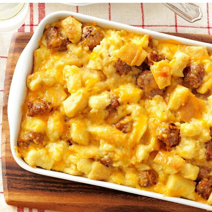 Arizona: Sausage and Egg Casserole