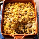 Sausage and Mushroom Corn Bread Dressing