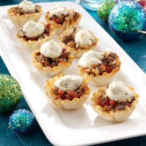 Savory Mushroom Tarts