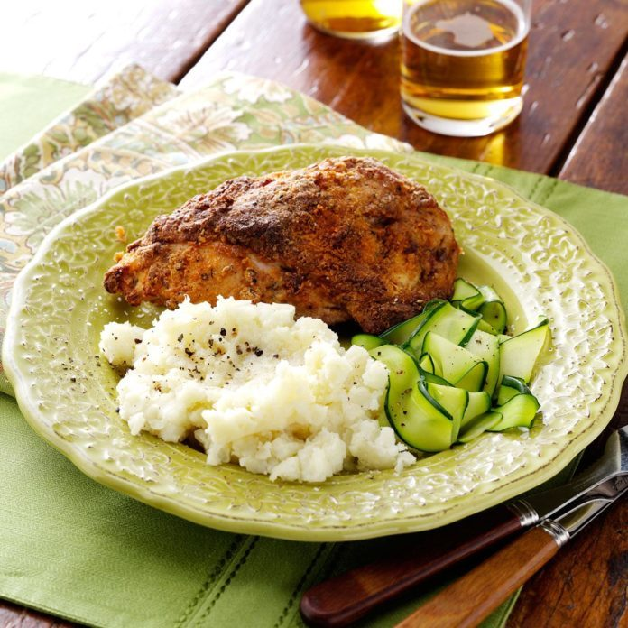 Savory Oven-Fried Chicken