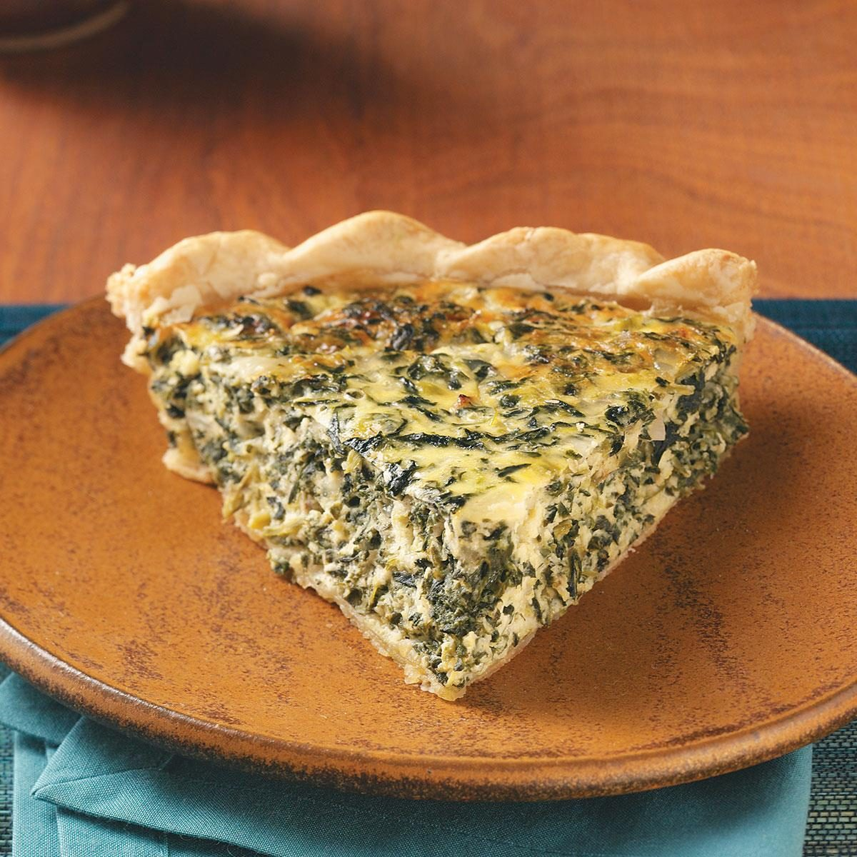Savory Spinach Pie Recipe Taste Of Home