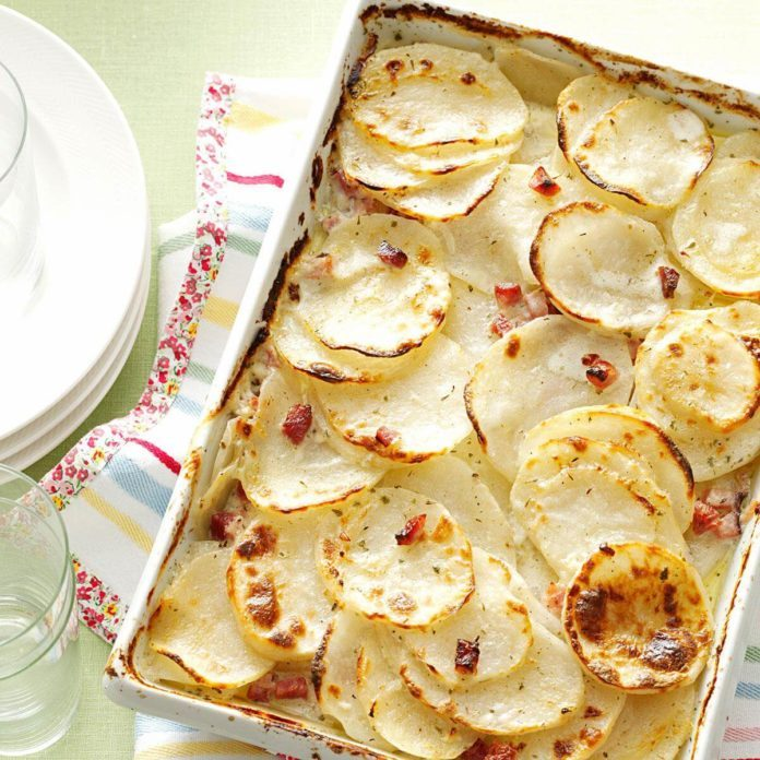 Day 4: Scalloped Potatoes With Ham