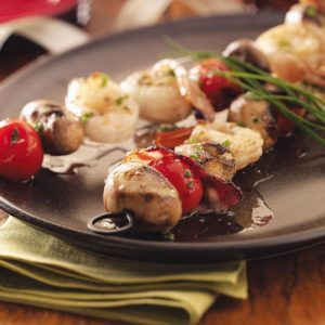 Seafood Brochettes