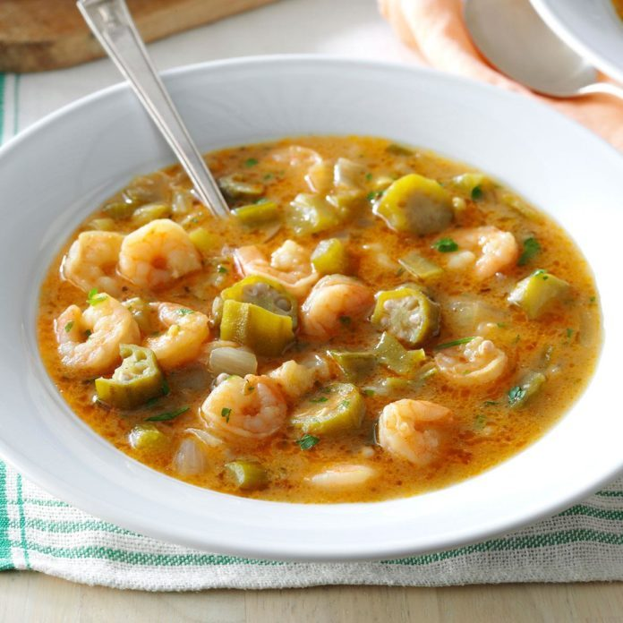 Inspired by: Seafood Gumbo