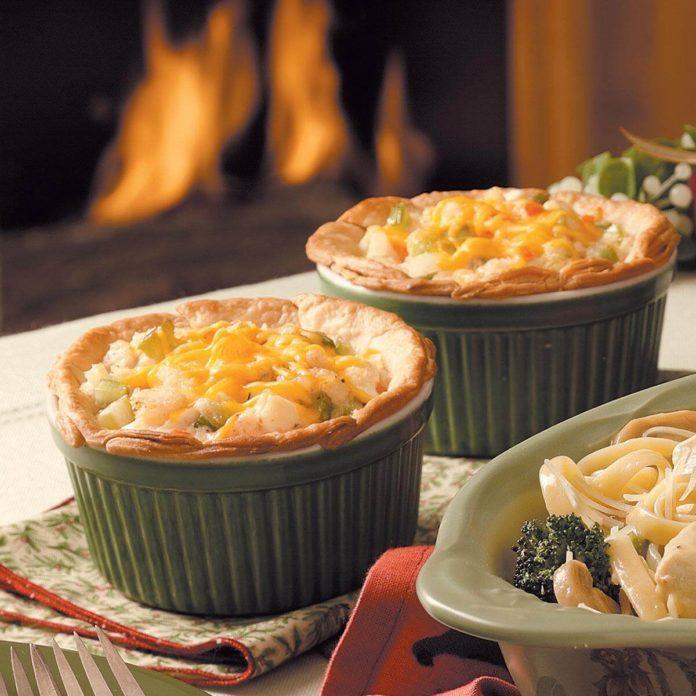 Seafood Potpies