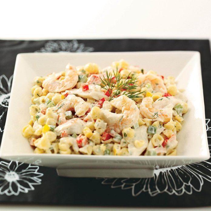 Seafood & Shells Salad