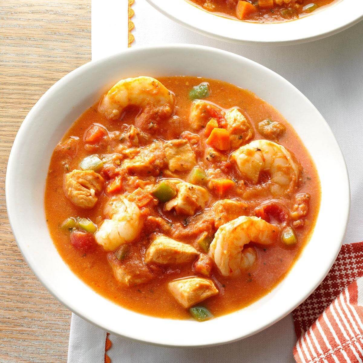 Red fish soup and standard cooking 28