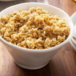 Seasoned Brown Rice
