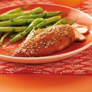 Sesame Cilantro Chicken for Two