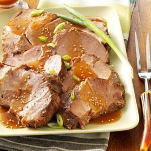 Sesame Pork Roast
