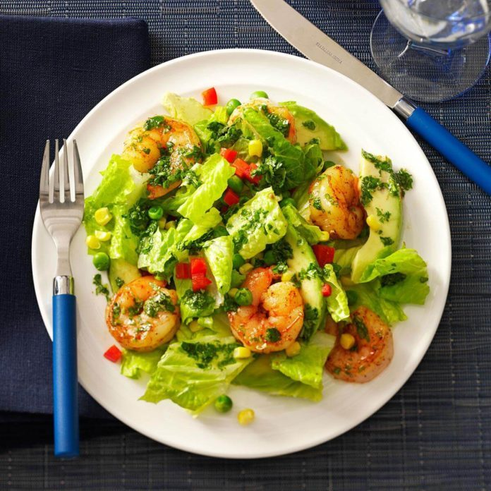 Day 11: Shrimp & Avocado Salads