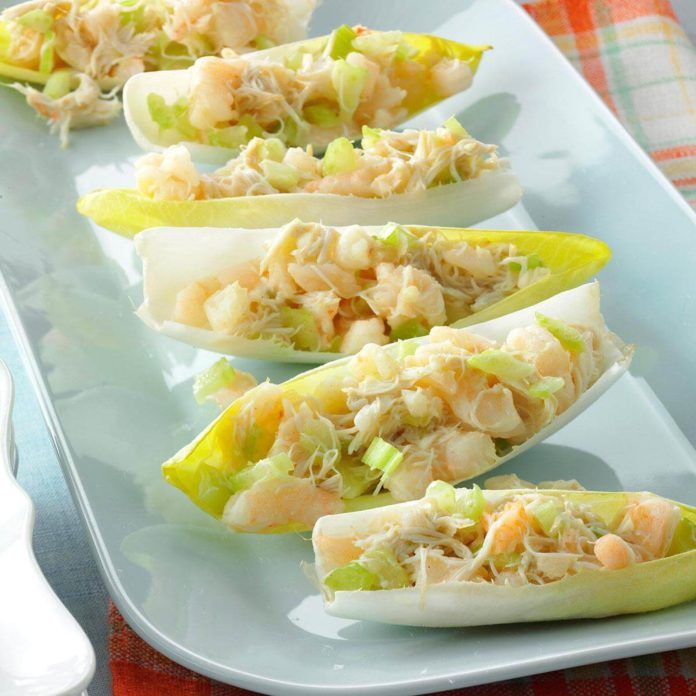 Shrimp Salad Appetizers