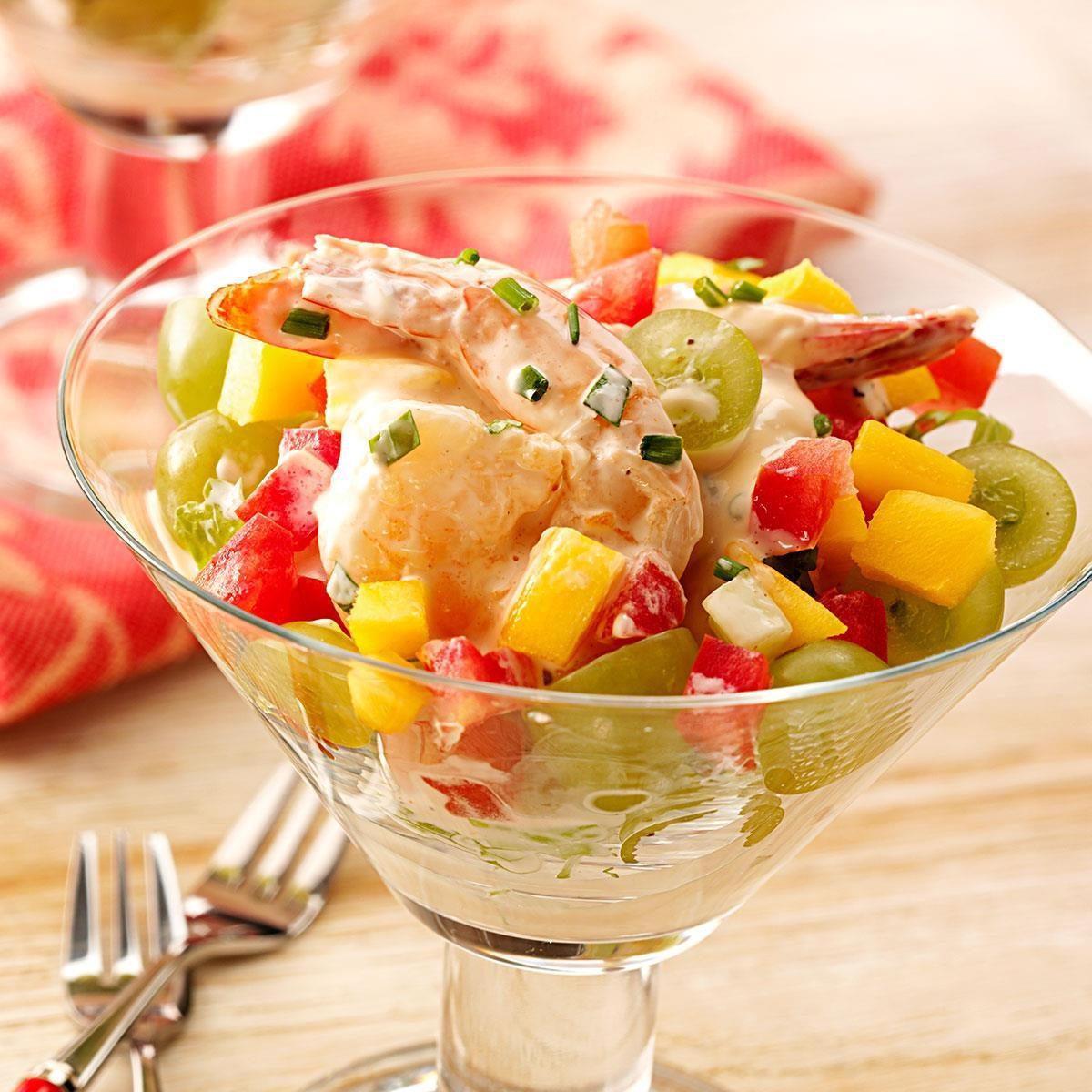 Shrimp Salad Cocktails Recipe | Taste of Home
