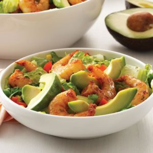 Shrimp Salad with Cilantro Dressing