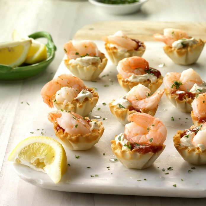 Shrimp Tartlets