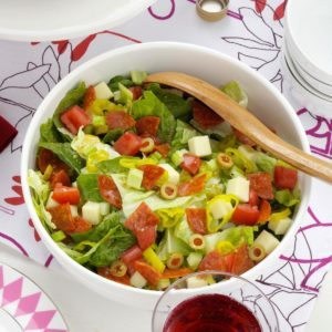 Sicilian Chopped Salad