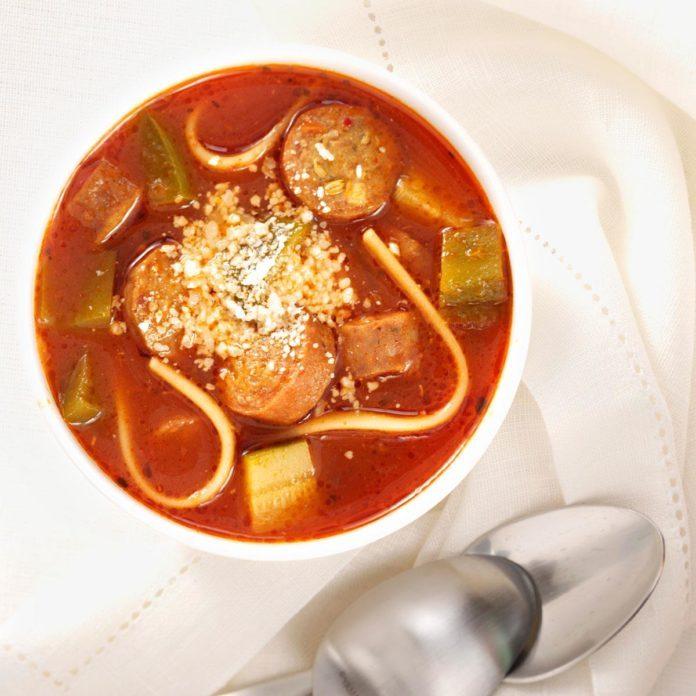 Simple Italian Sausage Soup