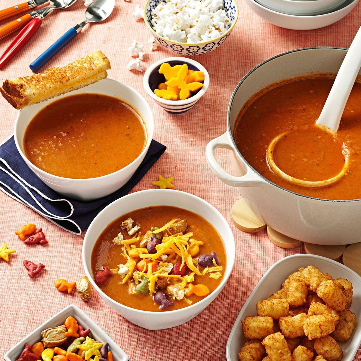 California Soup Kitchen Menu