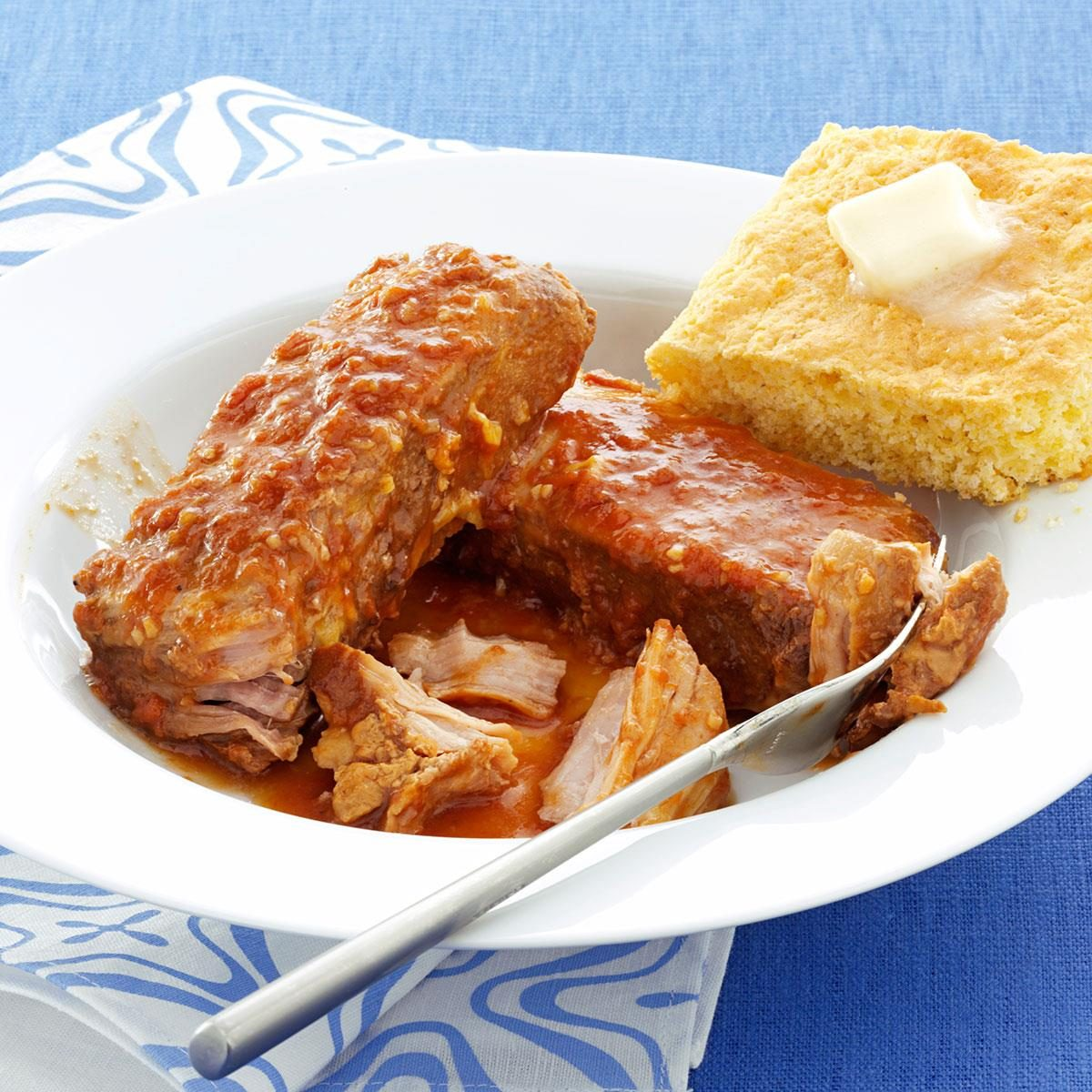 Test Kitchen Slow Cooker Ribs