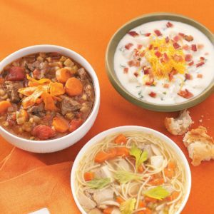 Slow-Cooked Beef Barley Soup