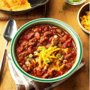 Top 10 Chili Recipes