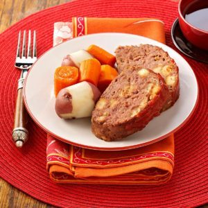 Slow-Cooked Meat Loaf