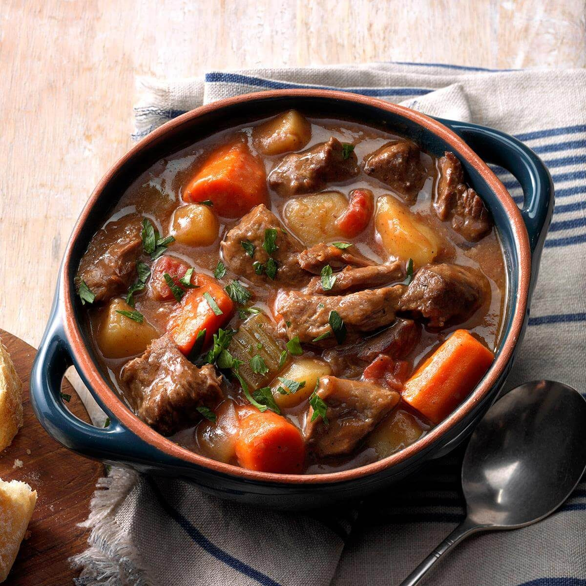 Slow-Cooker Beef Stew Recipe