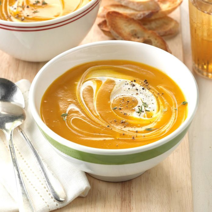 Slow Cooker Butternut Squash Soup