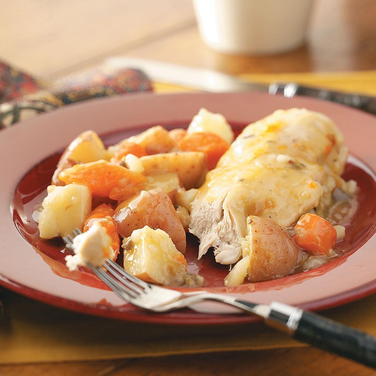 Slow Cooker Chicken Dinner Recipe