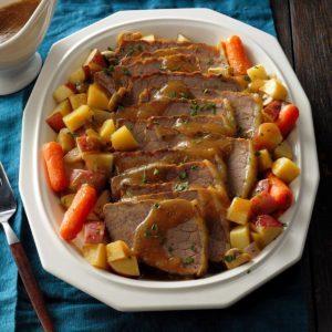 44 german christmas foods taste of home slow cooker sauerbraten forumfinder Choice Image
