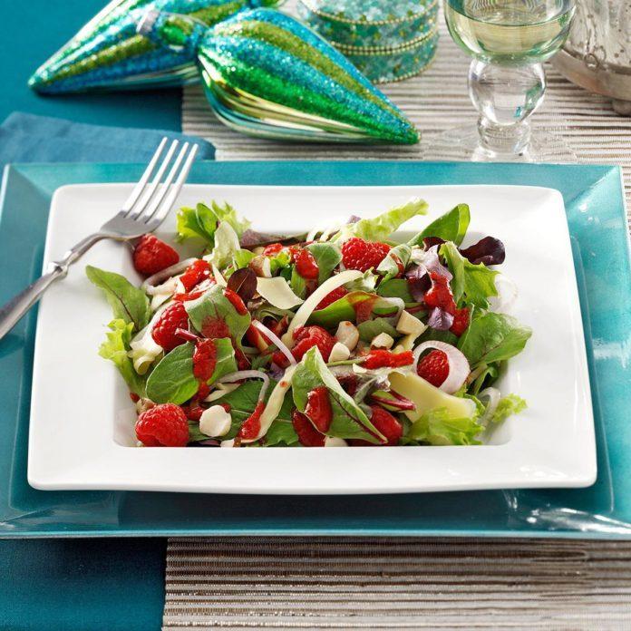 Smoked Gouda & Raspberry Salads