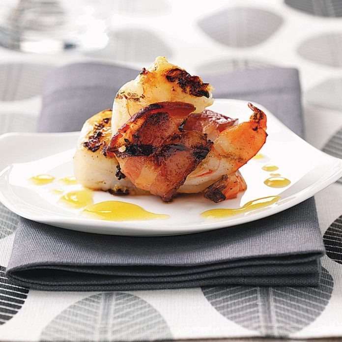 Smoky Grilled Shrimp for Two