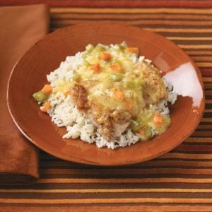 Smothered Home-Style Chicken