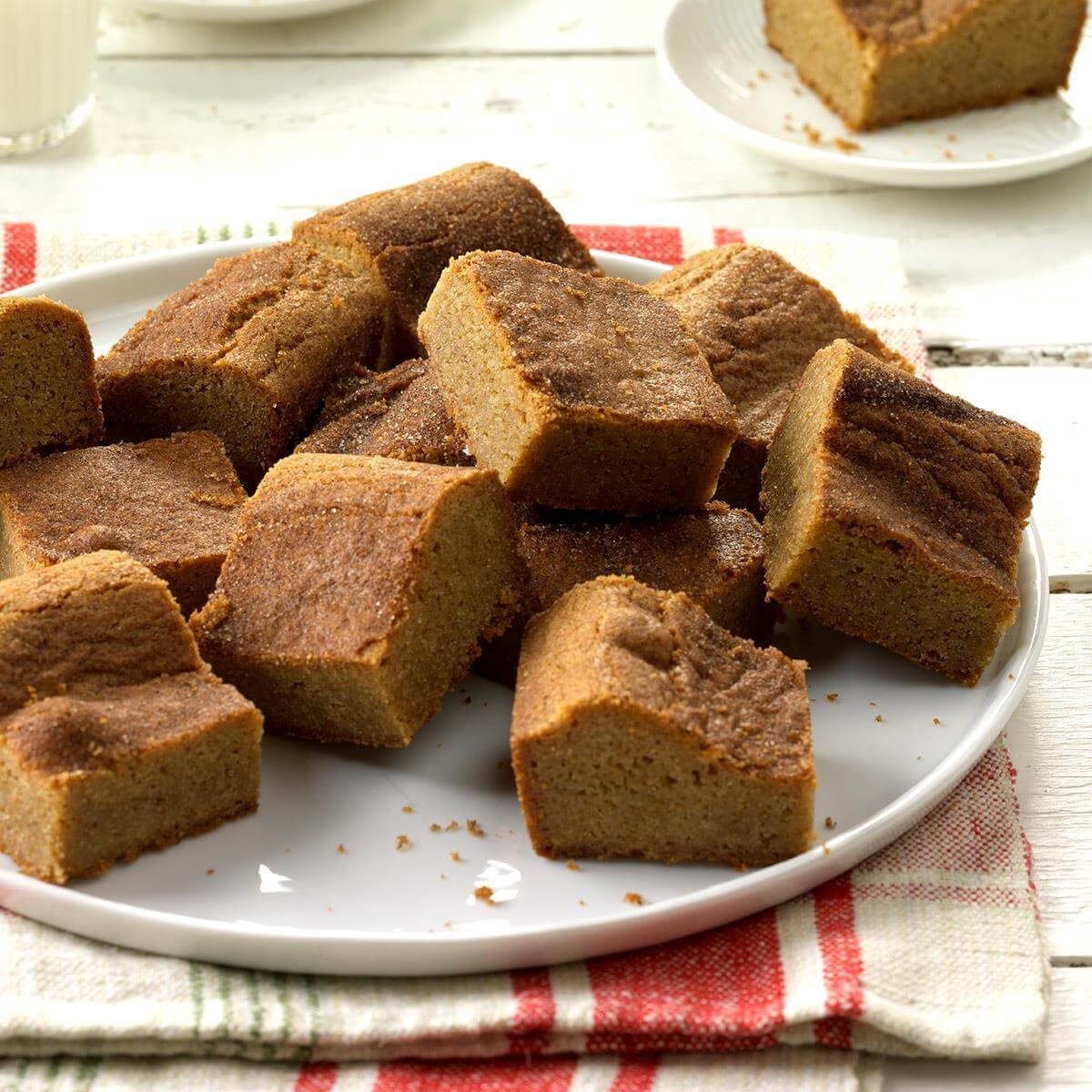 A Kitchen That Brings It All Together In Blackburn: Snickerdoodle Blondie Bars Recipe