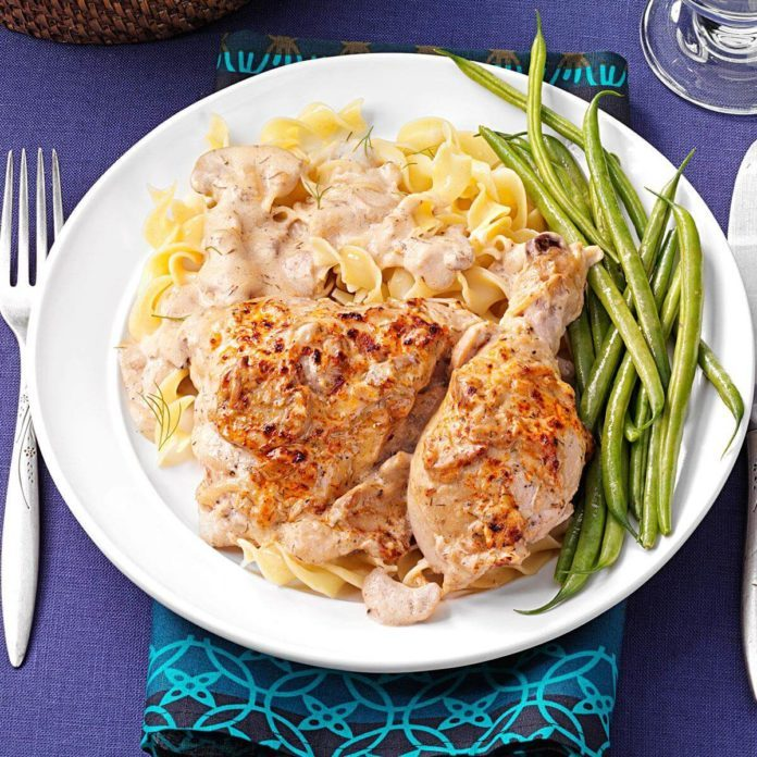Sour Cream 'n' Dill Chicken