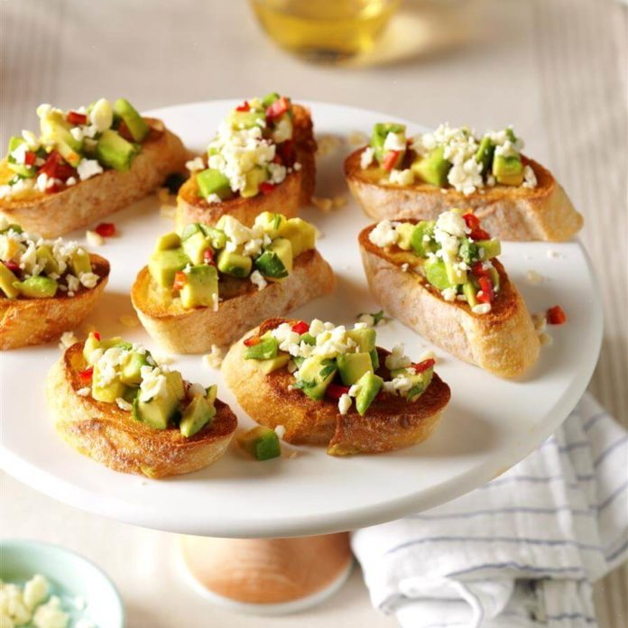 South-of-the-Border Bruschetta