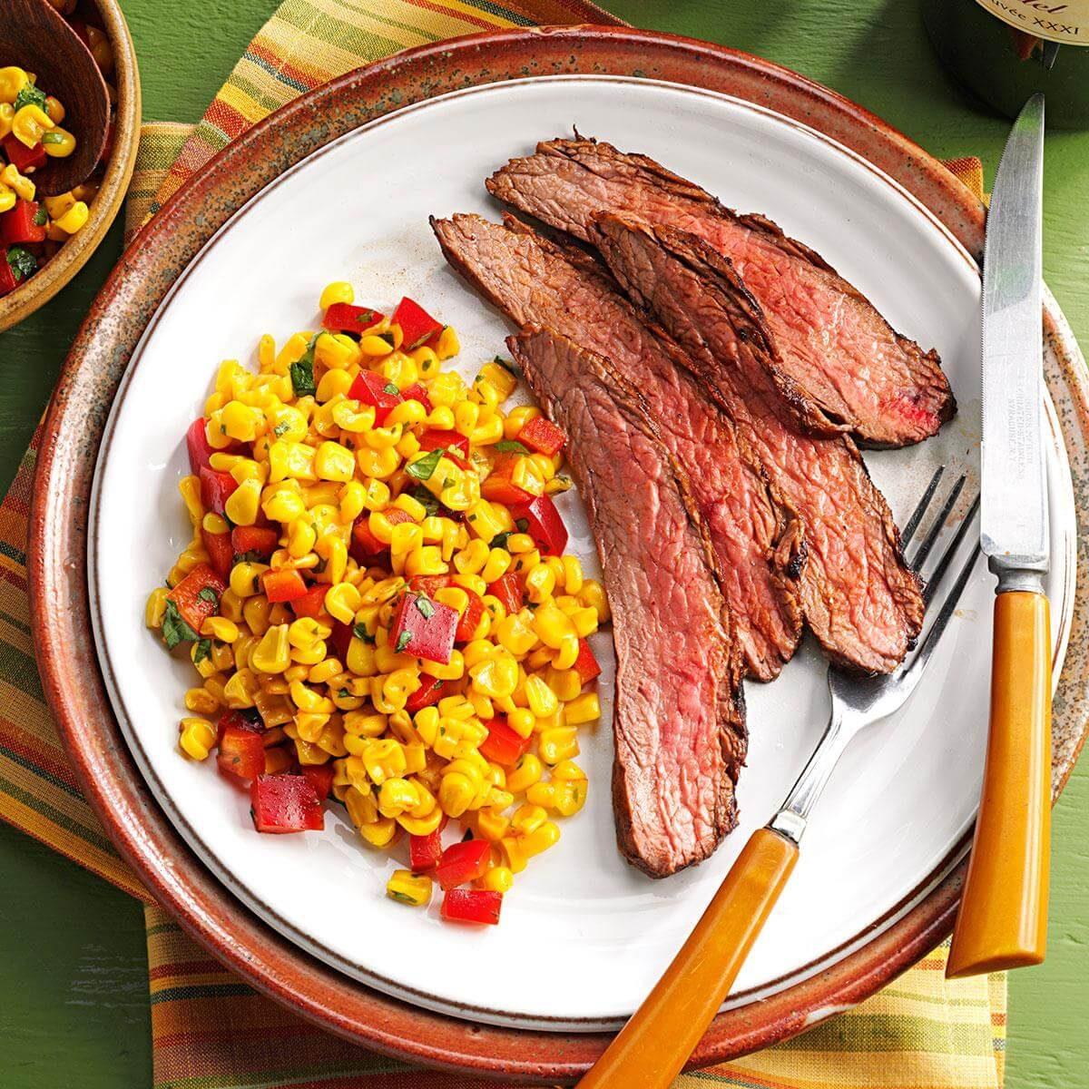 Southwest Flank Steak Recipe Taste Of Home