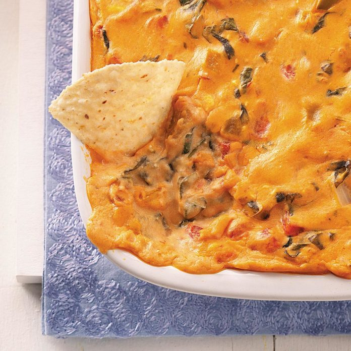 Southwest Spinach Dip