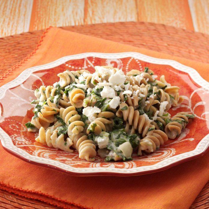 Spanako-Pasta