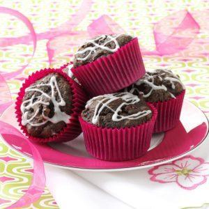 Spiced Cocoa Cupcakes