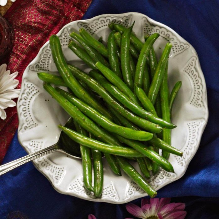 Spiced Green Beans